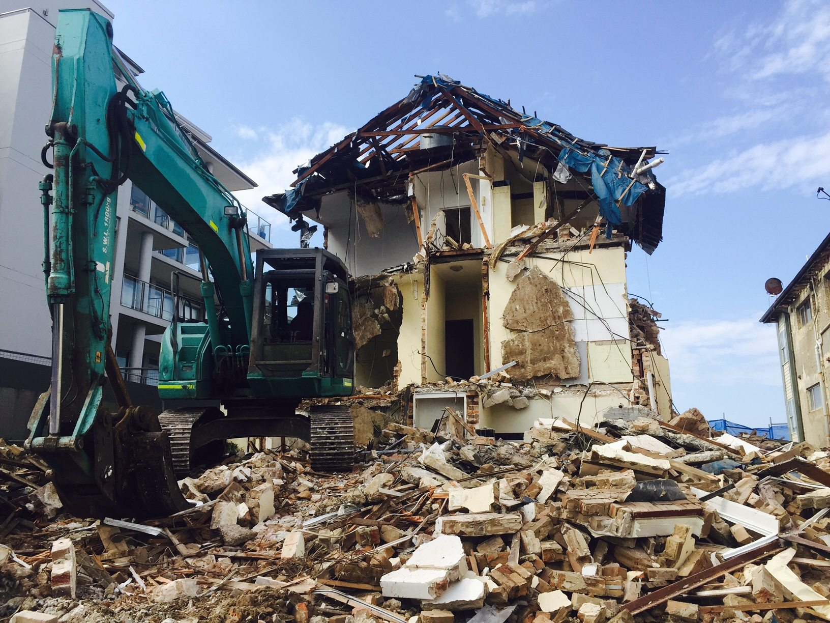 House and Partial Demolition